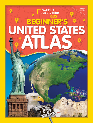 Beginner's U.S. Atlas 2020, 3rd Edition by National Geographic Kids