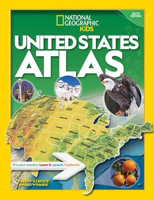National Geographic Kids U.S. Atlas 2020, 6th Edition by National Geographic Kids