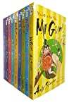 Mr Gum Collection Andy Stanton 9 Books Set (Biscuit Billionaire, Cherry Tree, Dancing Bear, Goblins, The Power Crystals, Whats for Dinner, Secret Hideout, Hound of Lamonic Bibber, You are a Bad Man)