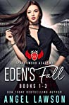 Book cover for Eden's Fall: Sparrowood Academy (Complete Series: Dark High School Romance Books 1-3)