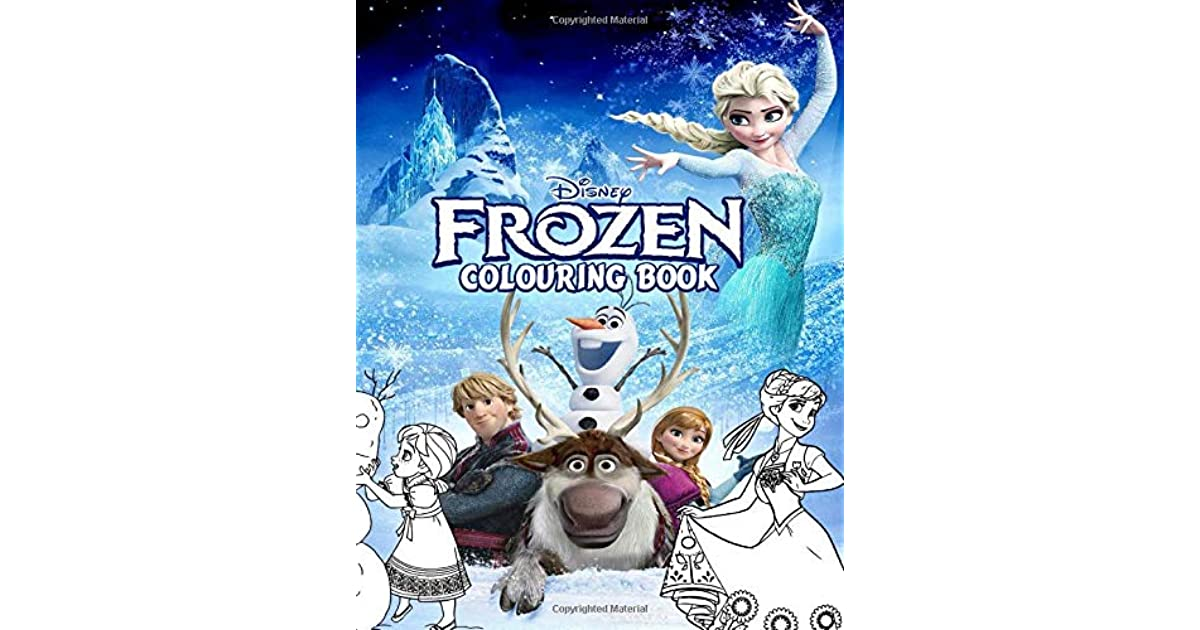 Frozen Colouring Book Over 50 Colouring Pages Of Disney Frozen