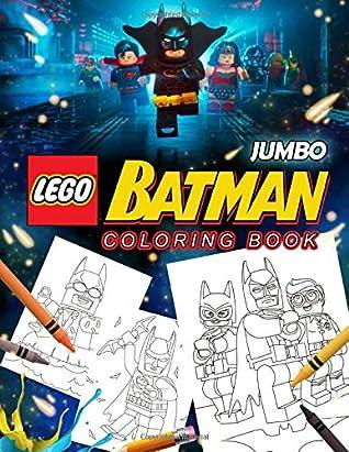 Lego Batman Coloring Book: Lego Batman Jumbo Coloring Book ...