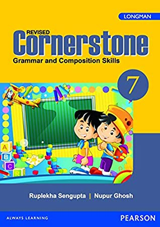Cornerstone 7 : English Grammar & Composition Book by Pearson for CBSE Class 7