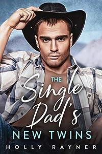 The Single Dad's New Twins (Billionaire Cowboys #1)