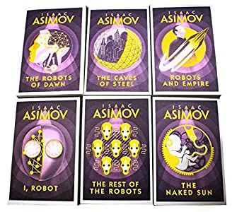 Isaac Asimov Robot Series 6 Books Collection Set