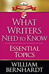 What Writers Need to Know: Essential Topics (Red Sneaker Writers Book Series 9)