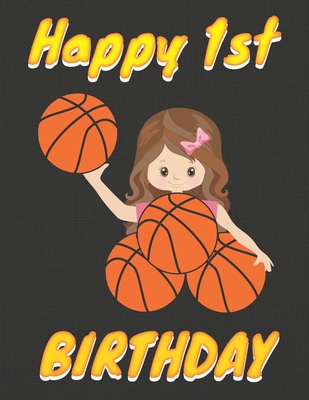 Happy 1st Birthday: Basketball Themed
