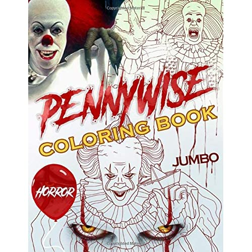 Pennywise Coloring Book Pennywise Superior Coloring Book With Amazing Images By Steven Turner