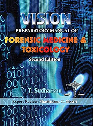 Vision Preparatory Manual Of Forensic Medicine 2nd 2019 By T Sudharsan
