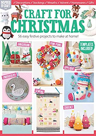 Christmas Paper Crafts Magazine 2020: Cute Cards, Paper Crafts For