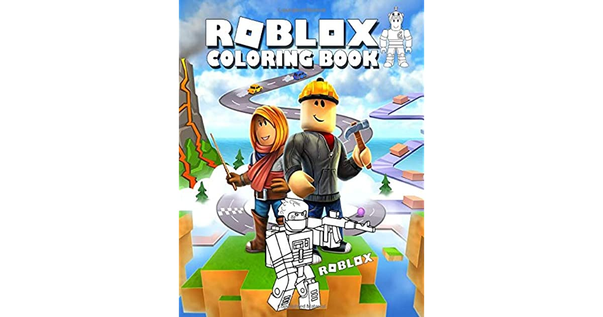 Roblox Coloring Book: Perfect Gift for Kids That Love ...