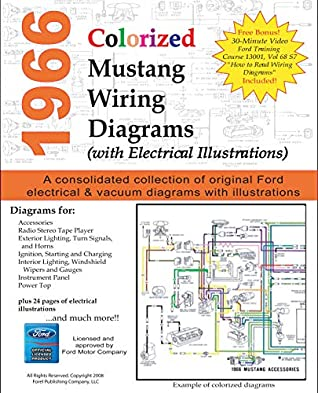 [DIAGRAM_1JK]  1966 Colorized Mustang Wiring Diagrams by Ford Motor Company | Ford Motor Company Wiring Diagrams |  | Goodreads