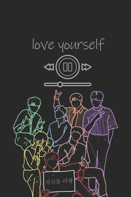 Bts Love Yourself Song Played Journal Cover K Pop 110 Lined Pages