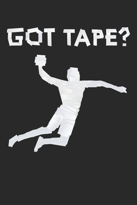 Got Tape Handball Duct Tape: Dot Grid Got Tape Handball Duct Tape / Journal Gift - Large ( 6 x 9 inches ) - 120 Pages Softcover