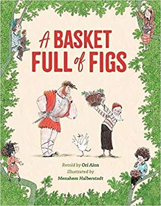 A Basket Full of Figs cover art with link to Goodreads page