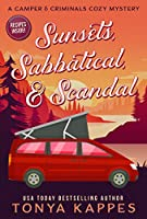 Sunsets, Sabbatical and Scandal (A Camper & Criminals Cozy #10)
