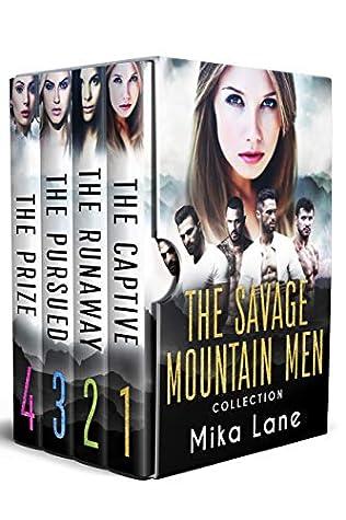 The Savage Mountain Men Romance Collection: Books 1-4