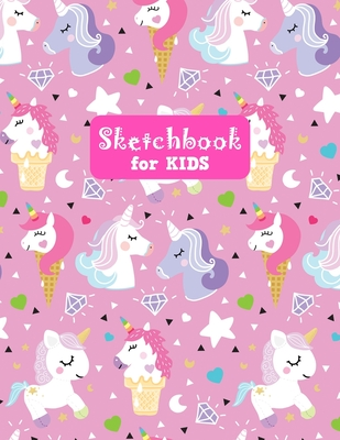 sketchbook for kids unicorn cute unicorn large sketch book for sketching drawing creative doodling notepad and unicorn cute unicorn large sketch book
