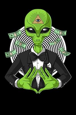 Alien Notebook: Space Alien Illuminati Pyramid Conspiracy Notebook