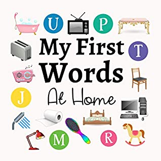 My First Words At Home A Fun Learning Activity Game Book For Kids