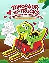 Dinosaur And Trucks In Valentine's Day Activity Books