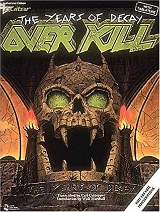 Overkill - The Years Of Decay with Guitar Tablature