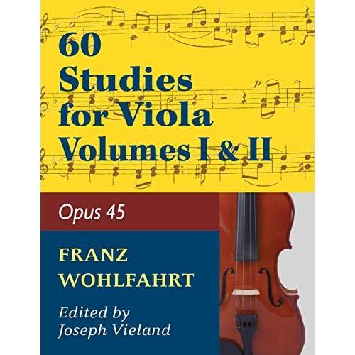 Viola solo by Joseph Vieland-In Wohlfahrt Franz 60 Studies 45: Volume 1 Op