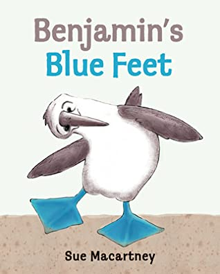 Benjamin's Blue Feet by Sue Macartney