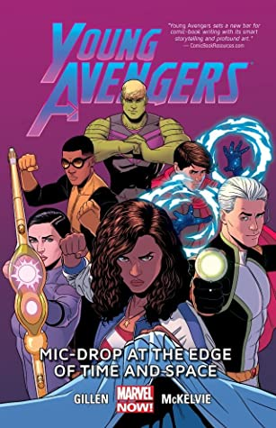 young avengers volume mic drop at the edge of time and space