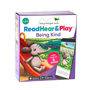 Read Hear  Play: Being Kind (6 Book Set  Downloadable Apps!)