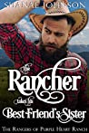 The Rancher takes his Best Friend's Sister: a Sweet Marriage of Convenience Western Romance (The Rangers of Purple Heart Ranch Book 2)