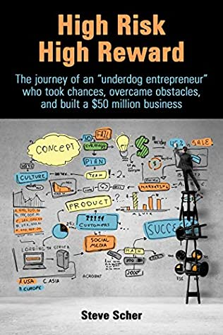 """High Risk High Reward: The journey of an """"underdog entrepreneur"""" who took chances, overcame obstacles, and built a $50 million business"""