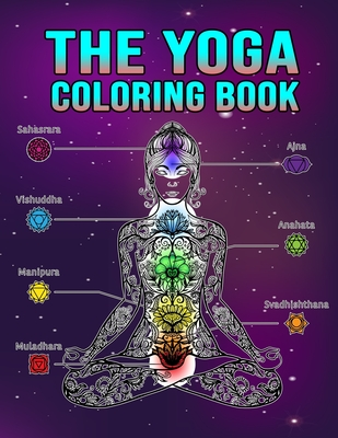 The Yoga Coloring Book The Yoga Anatomy Coloring Book By Golden Book Publishers
