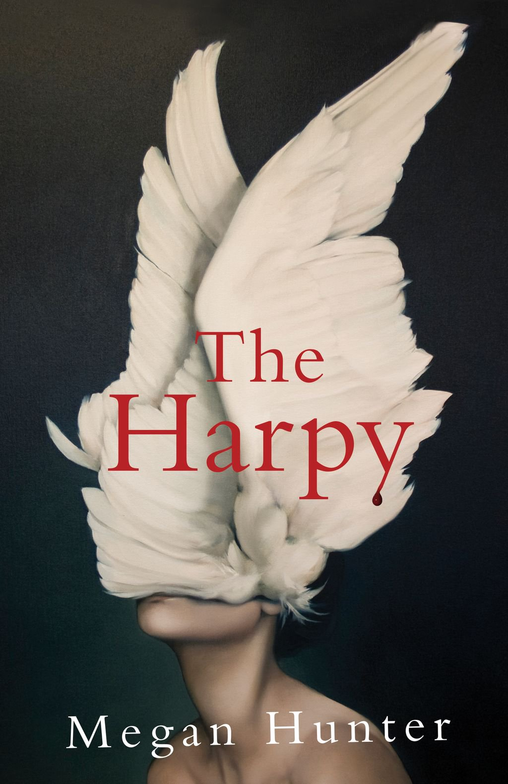 Cover of the book, The Harpy by Megan Hunter