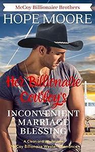 Her Billionaire Cowboy's Inconvenient Marriage Blessing (McCoy Billionaire Brothers Book 7)