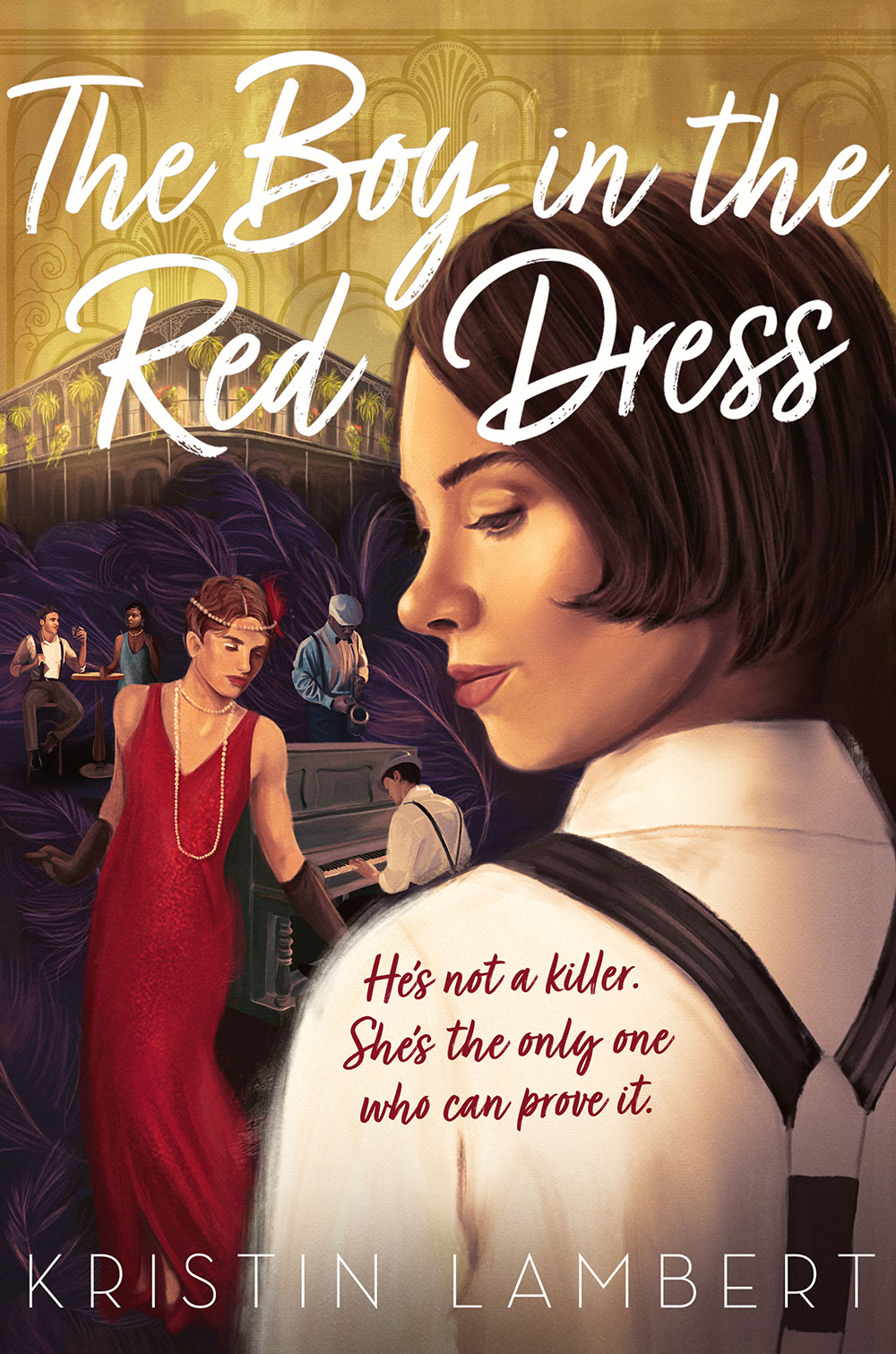 The Boy in the Red Dress - Kristin Lambert