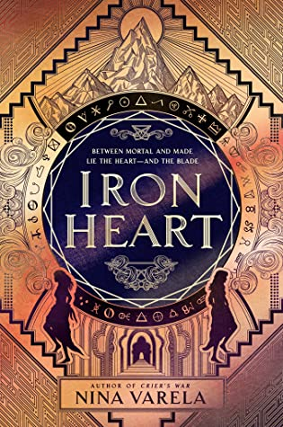 Cover of Iron Heart by Nina Varela