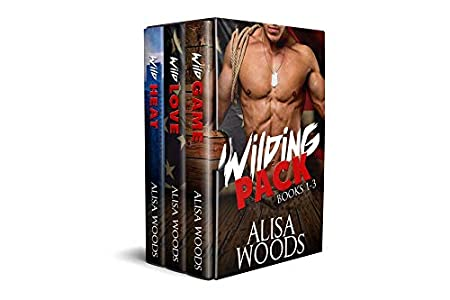 Wilding Pack Books 1-3 (Wild Game, Wild Love, Wild Heat) - New Adult Paranormal Romance (Wilding Pack Wolves)
