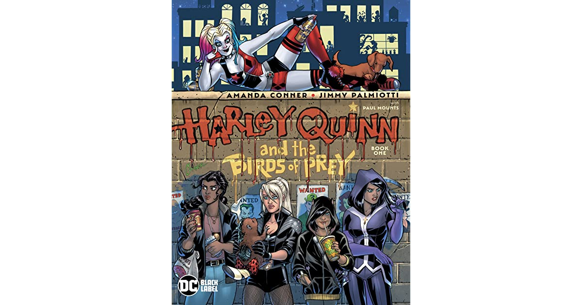 Harley Quinn And The Birds Of Prey 2020 1 By Amanda Conner