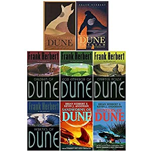 Dune Series 1-8: 8 Books Collection Set By Frank Herbert