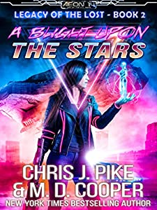 A Blight on the Stars (Legacy of the Lost #2)