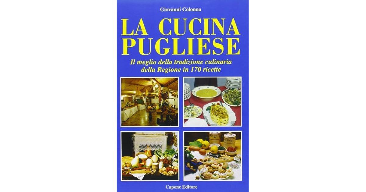 La Cucina Pugliese By Giovanni Colonna