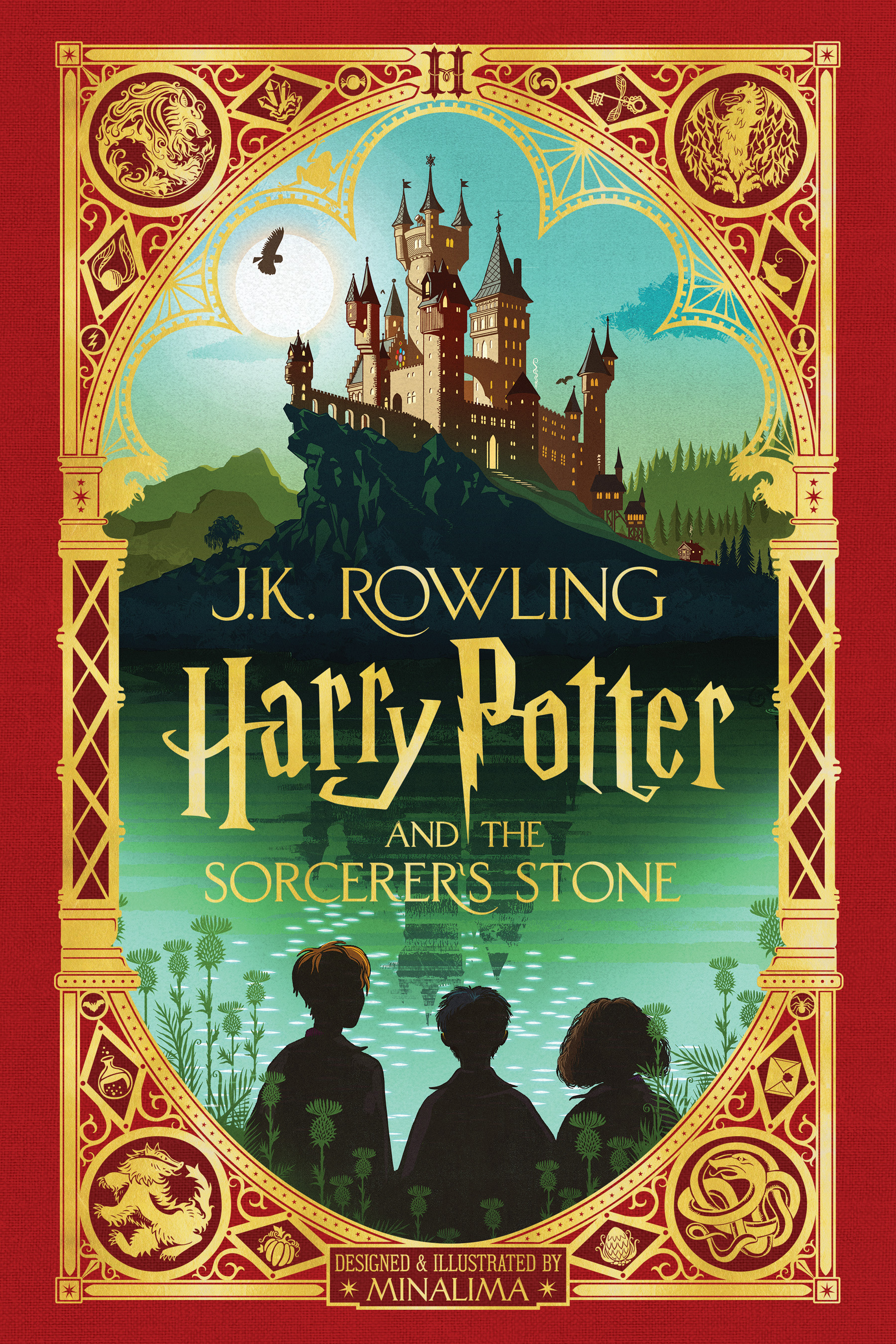 Harry Potter and the Sorcerer's Stone: MinaLima Edition (Harry Potter, Book 1) (Illustrated edition)