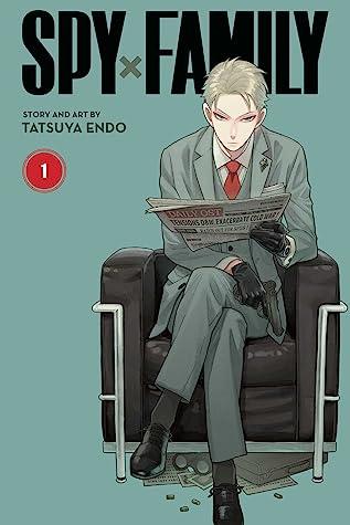 Jacket cover for Spy x Family by Tatsuya Endo