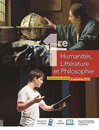 Humanités, Littérature et Philosophie 1ère spé - Livre élève - Ed. 2019