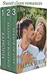 Her (Not So) Perfect Love Match: Opposites attract sweet, faith-filled romances set in a small-town