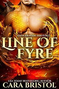 Line of Fyre (Alien Dragon Shifters, #2)