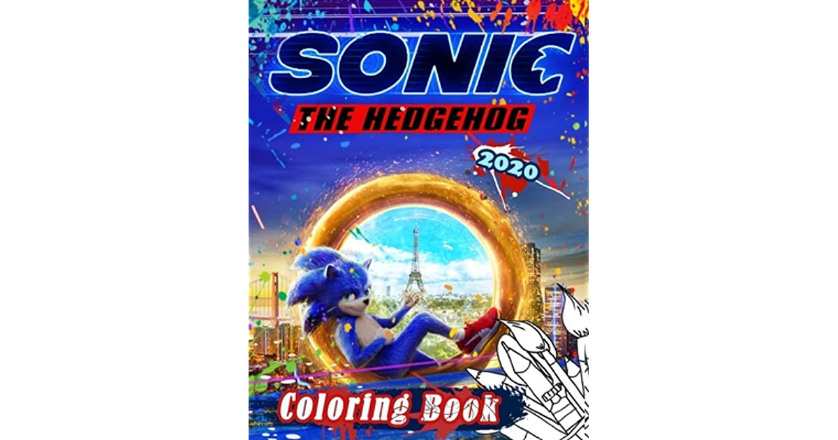 Sonic The Hedgehog 2020 Coloring Book Sonic 2020 Coloring Book