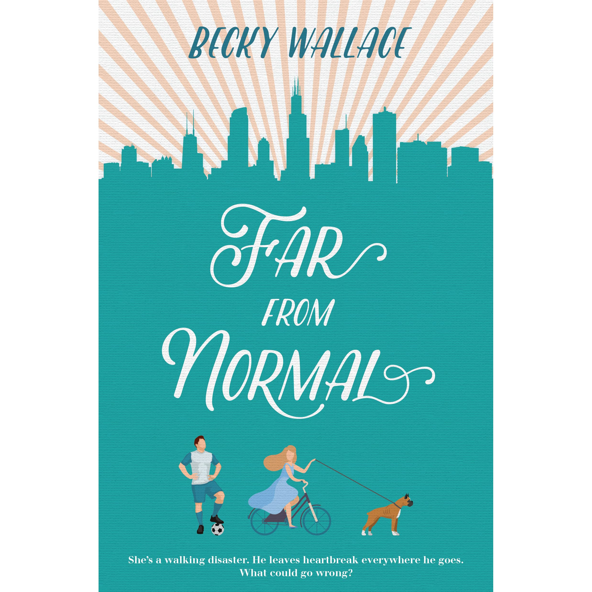 Far from Normal by Becky Wallace