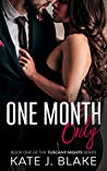 One Month Only (Tuscany Nights #1)